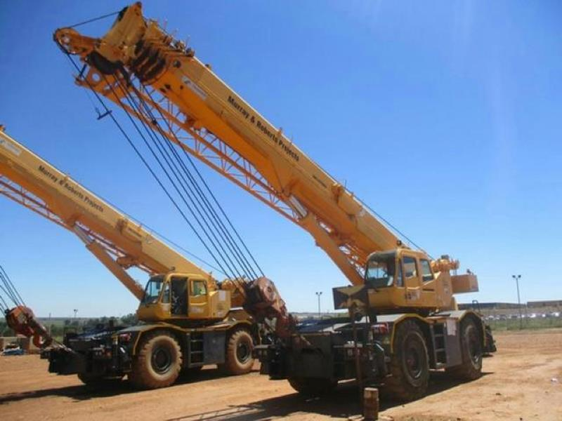 Tadano GR550 55 Ton Mobile Crane for sale in Cape Town - ID
