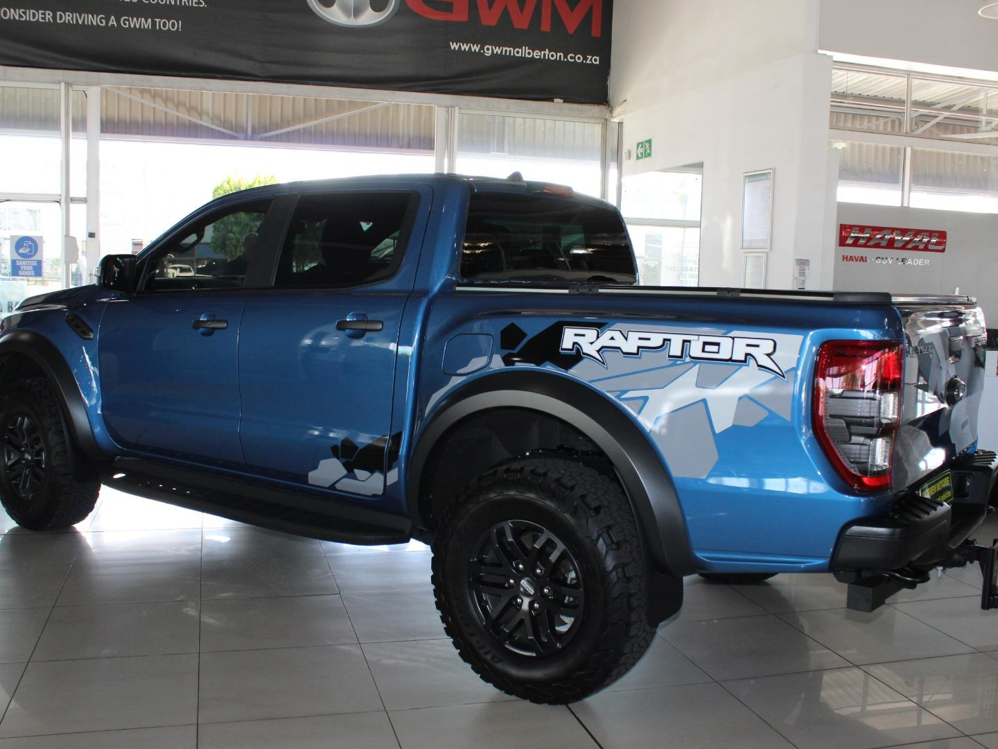 2019 Ford Ranger 2.0Bi-Turbo Double Cab 4x4 Raptor- Picture 3