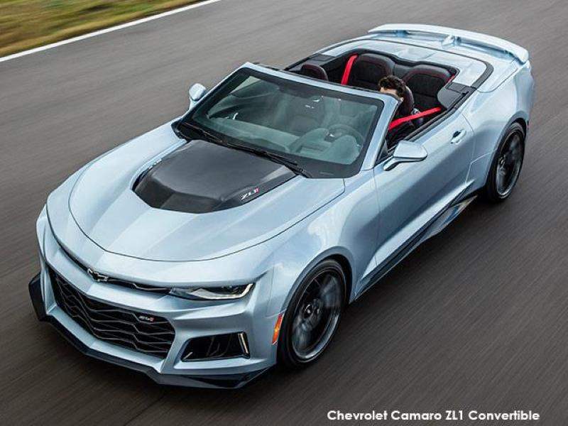 Chevrolet Camaro Zl1 Designed To Excell On Street And