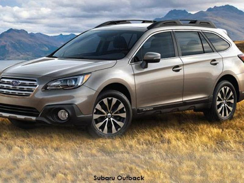 Take the Outback on an adventure - the fifth generation