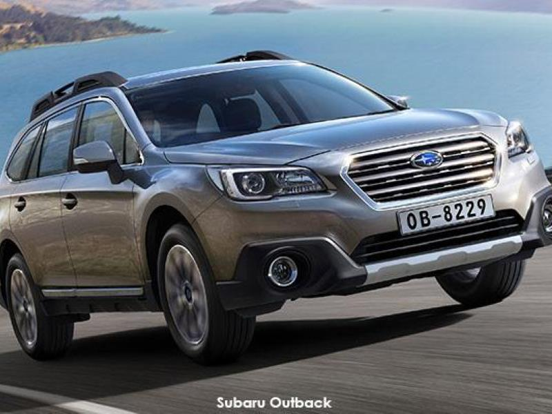 Take the Outback on an adventure - the fifth generation Subaru