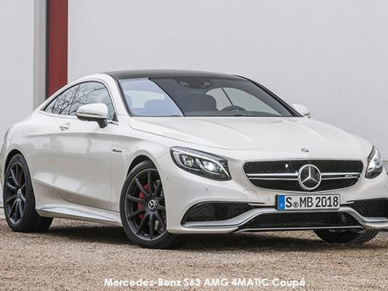 The new Mercedes-Benz S 63 AMG Coupe: Breathtaking and