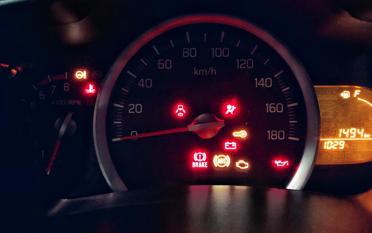 Suzuki Celerio Dashboard Warning Lights