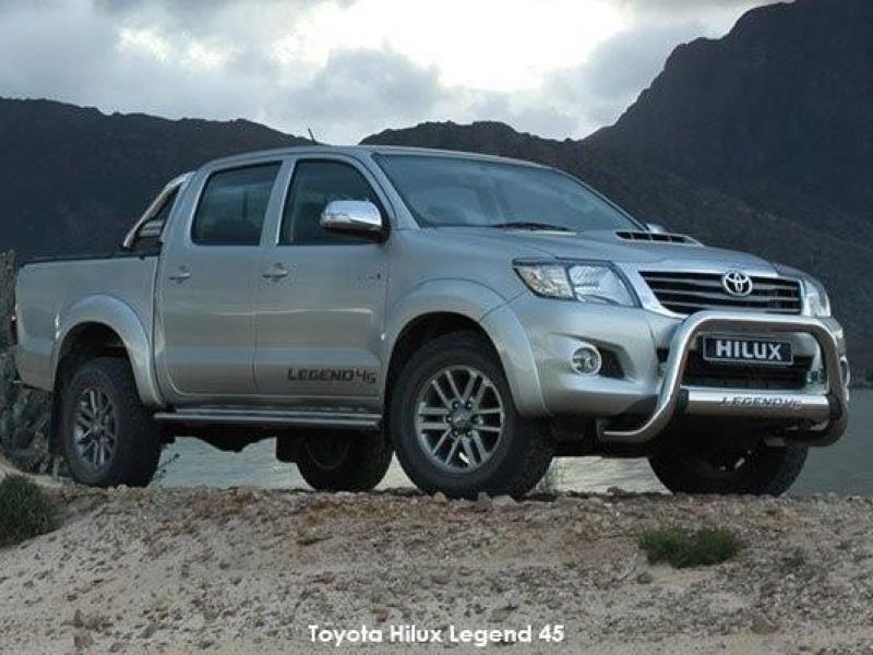 The Legend returns: Toyota Hilux Legend 45 - Motoring news