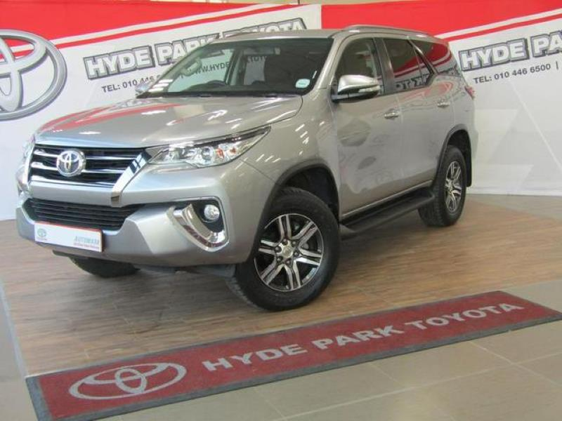 Toyota Fortuner 2 4GD-6 Auto for sale in Johannesburg - ID