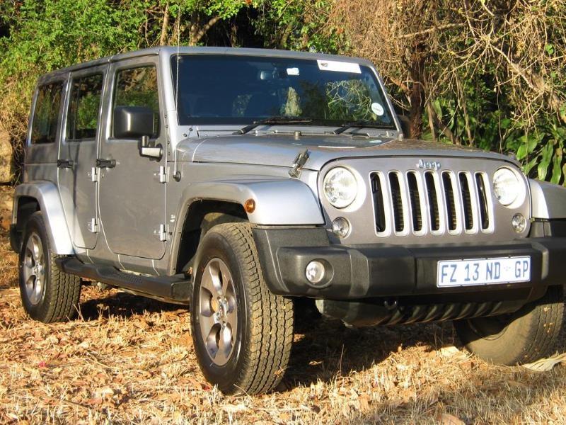 Review: Jeep Wrangler Unlimited Sahara 2 8 CRD Automatic