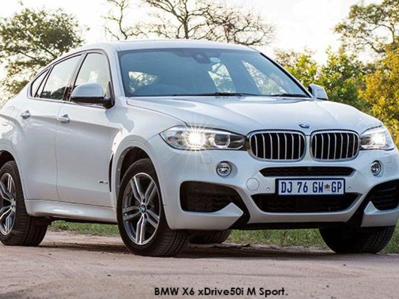 Incomparable, irresistible: The new BMW X6 now available in