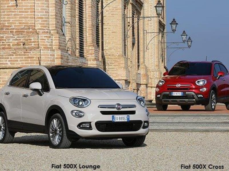 The new Fiat 500X crossover - this is the X side of beauty