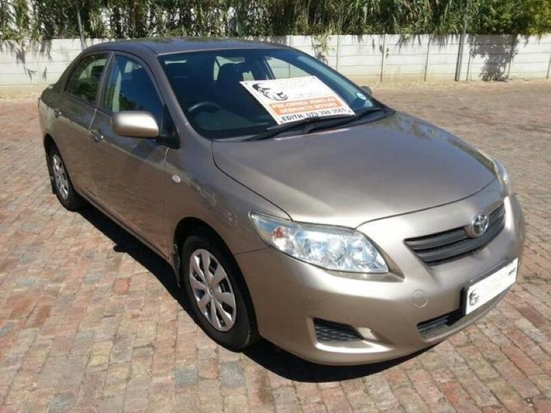 Toyota Corolla 1 4 Professional for sale in George - ID: 24878164