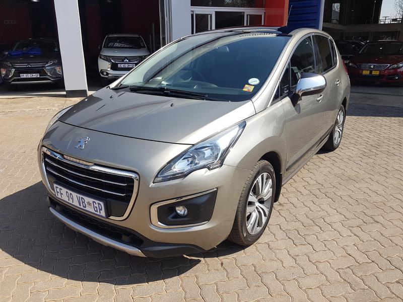 2014 Peugeot 3008 2.0 Hdi Allure At Satnav