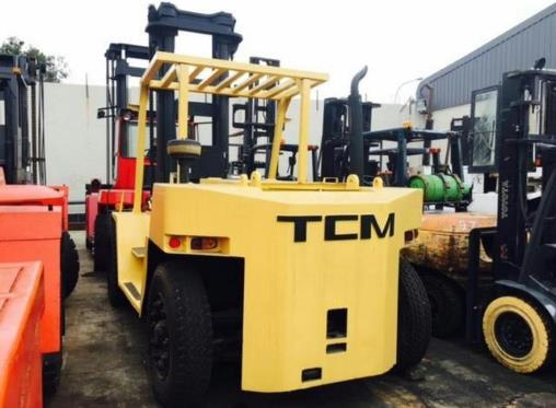 TCM 10 TON ISUZU DIESEL ENGINE forklifts for sale in