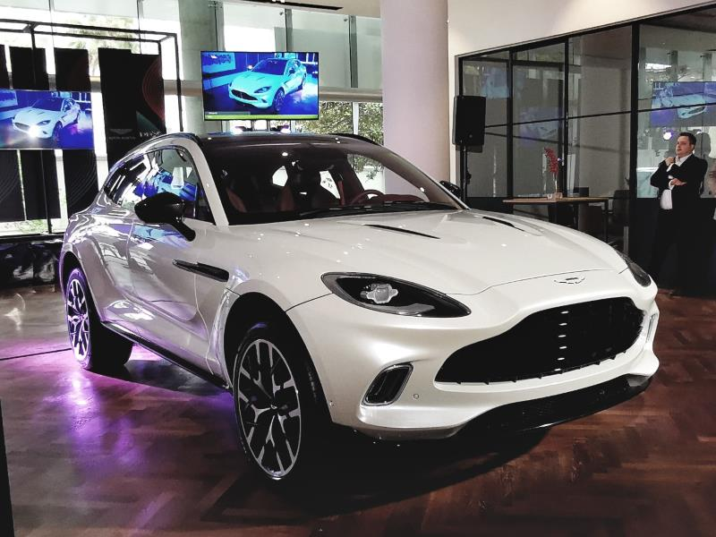2020 Aston Martin Dbx Unveiled In Sa Motoring News And Advice Autotrader