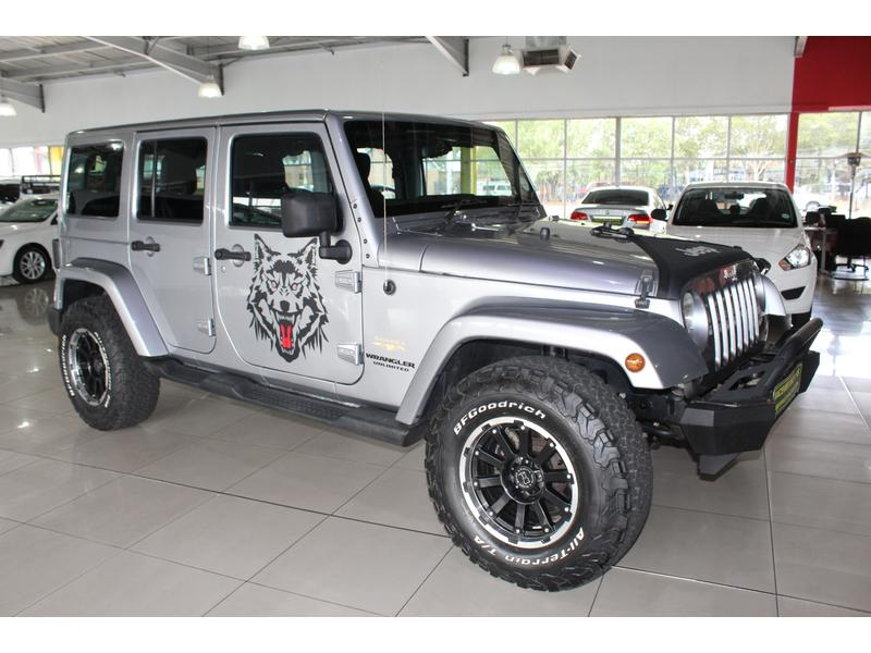 2015 Jeep Wrangler Unlimited 3.6L Sahara