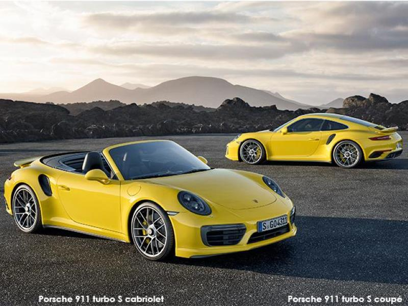 Porsche 911 Turbo And 911 Turbo S Top Models With