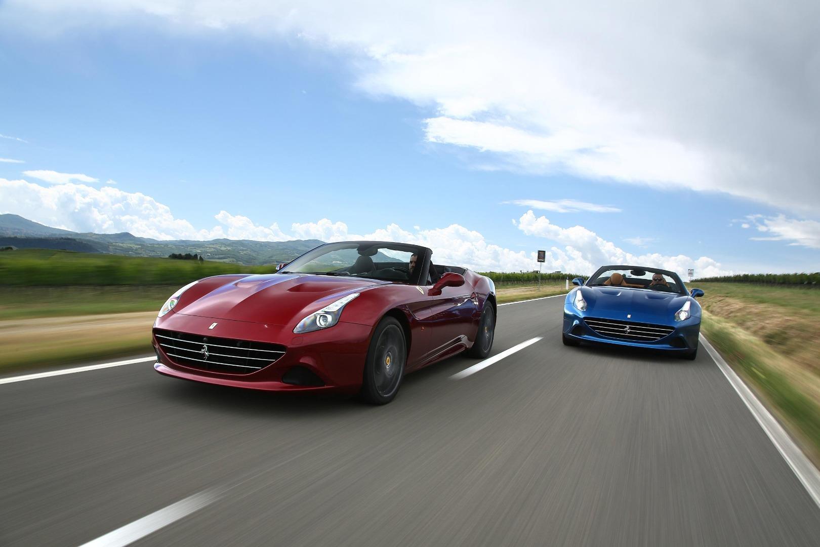 Ferrari California vs Maserati GranCabrio vs Porsche 911 ...