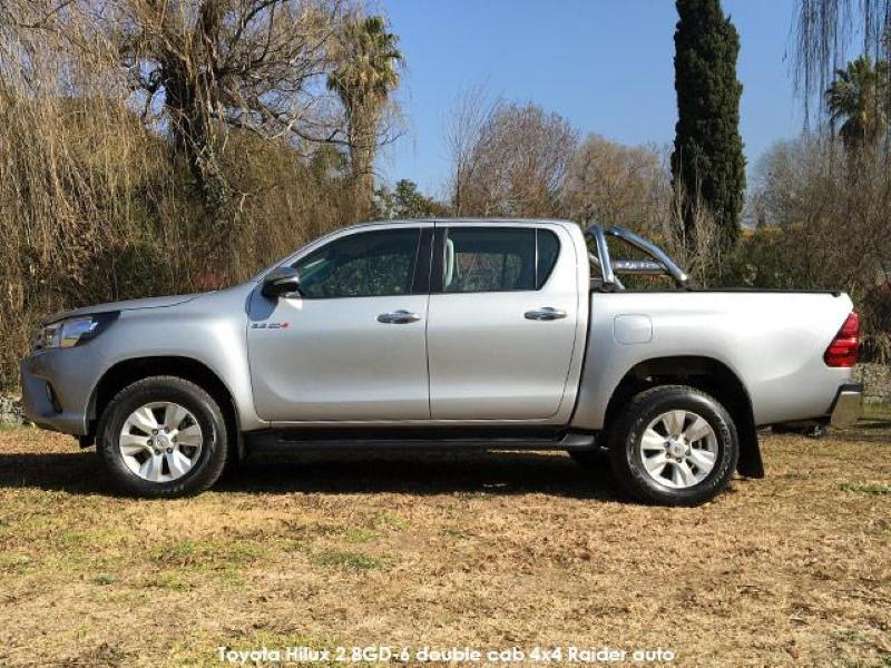 Toyota Hilux 2 8GD-6 double cab 4x4 Raider auto – is the new Hilux