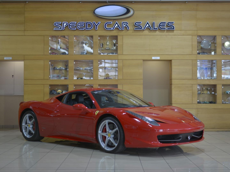 Ferrari 458 (Italia) at Speedy Car Sales