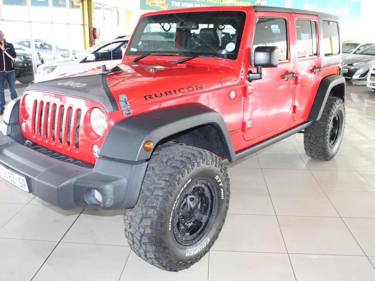 2016 Jeep Wrangler Unlimited 3.6L Rubicon- Picture 4