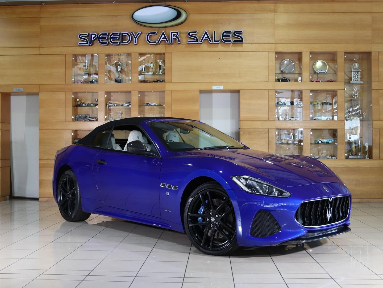 Maserati GranCabrio (GranCabrio MC) at Speedy Car Sales