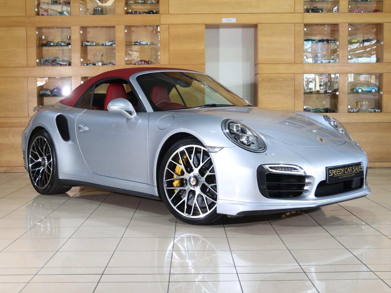 Porsche 911 (Turbo S Cabriolet) at Speedy Car Sales