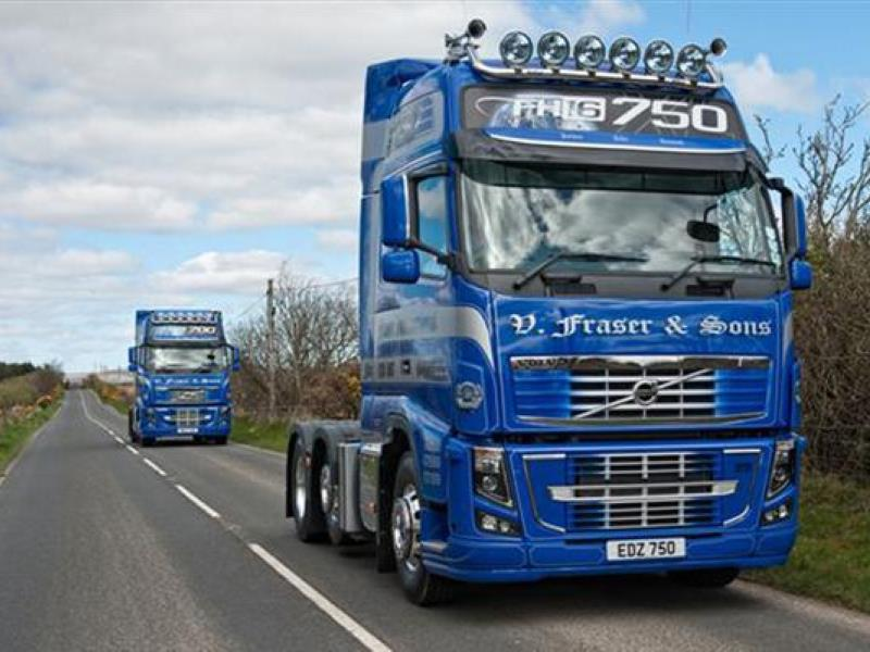 First Volvo Fh16 750 In Northern Ireland Motoring News And Advice