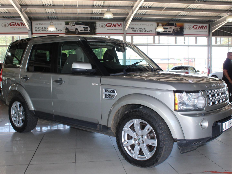 2011 Land Rover Discovery 4 SDV6 SE